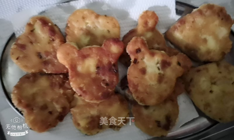 Potato mashed cake with minced meat