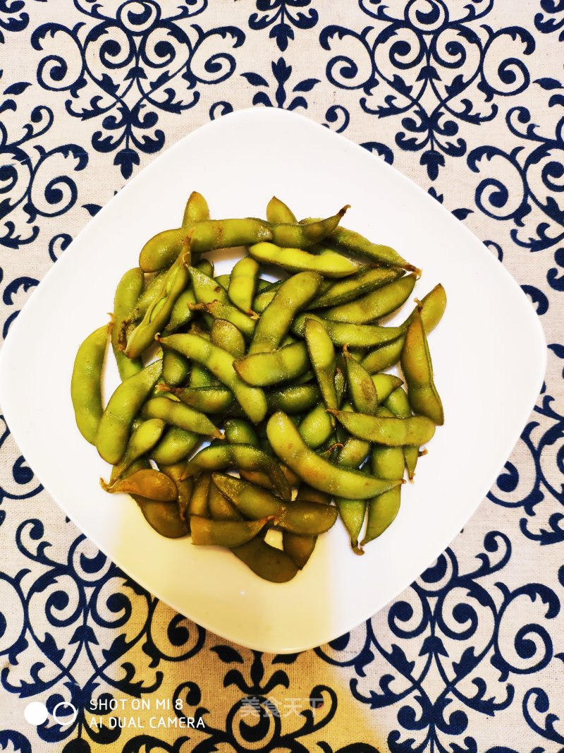 Boiled Green Soy Bean