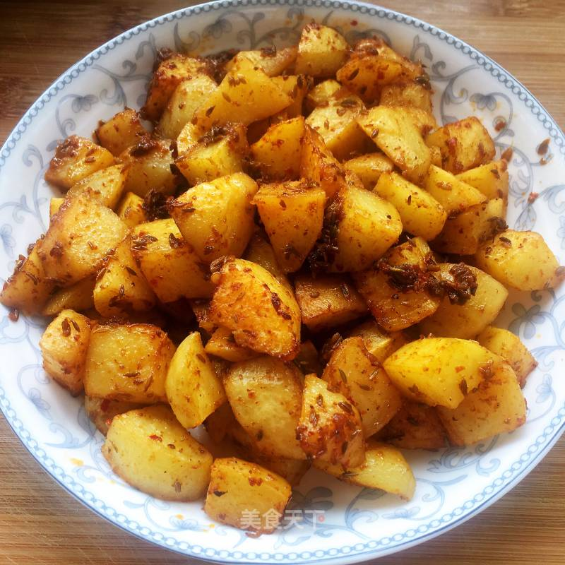 Barbecued Potatoes