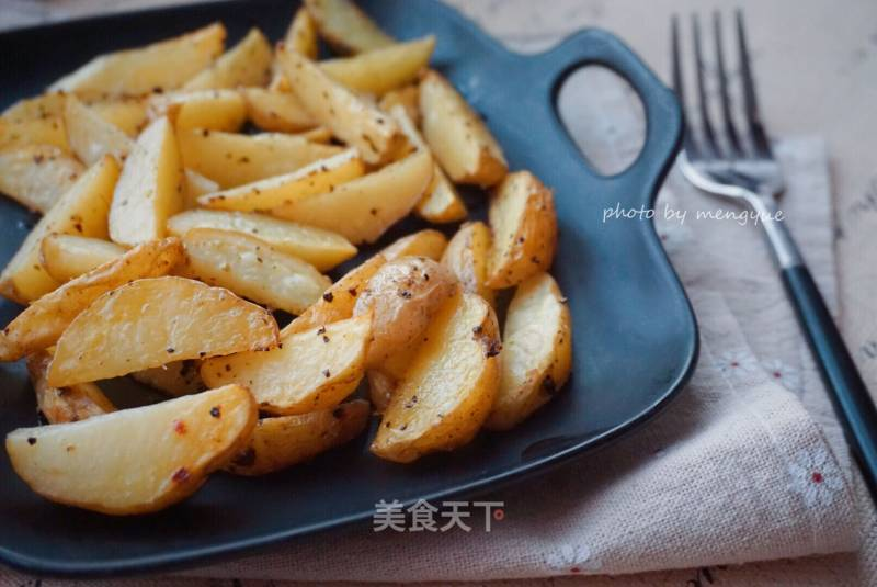 Italian-flavored baked potato chips