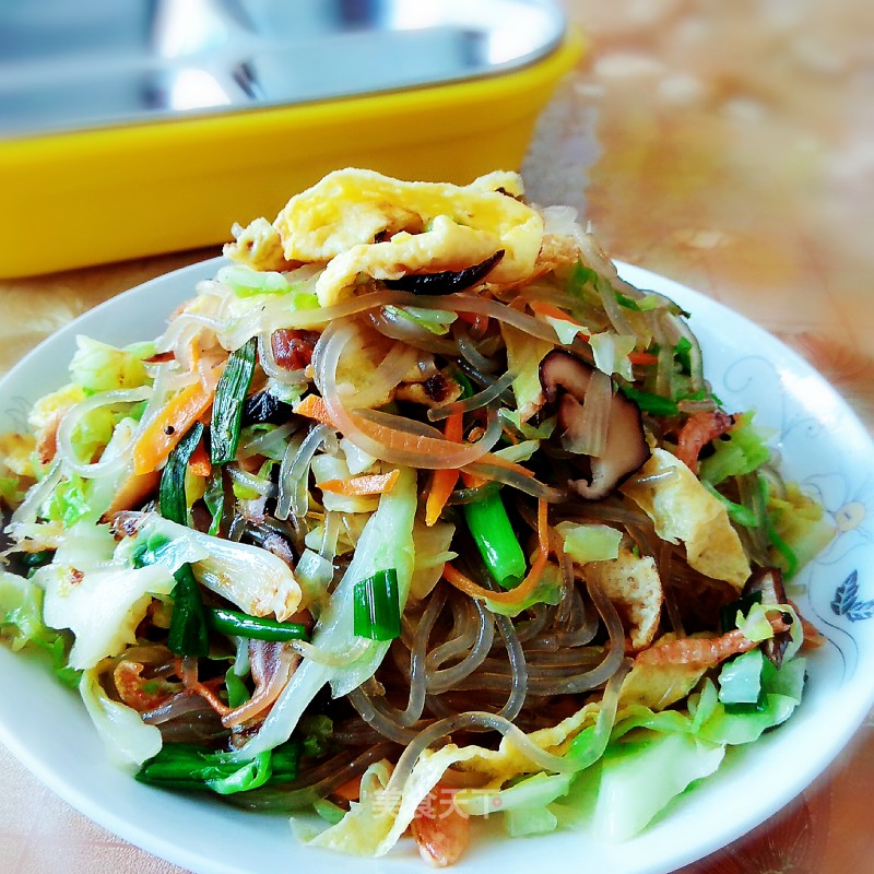 Wenzhou characteristic fried noodles
