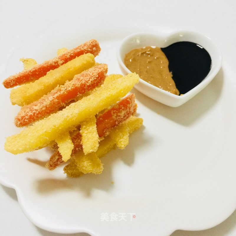 Two colour fries