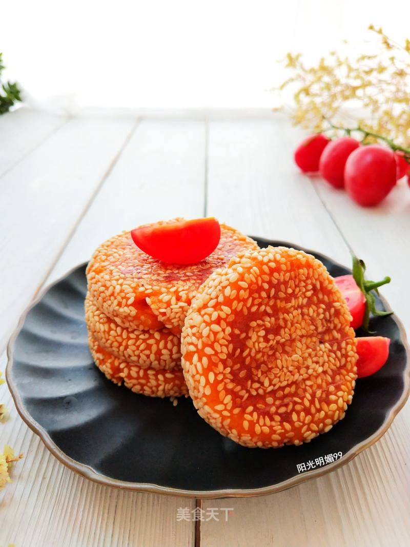 Sweet potato sticky rice cake