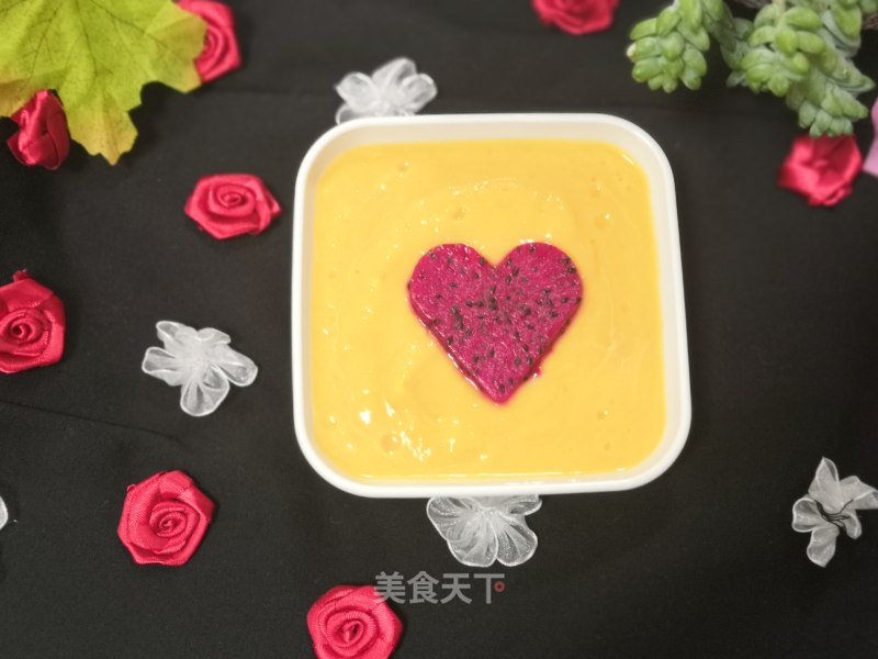 Pumpkin yoghurt paste